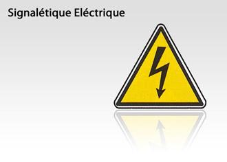Signalétique Sécurité Eléctrique