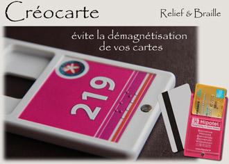 Porte-clés Créo-carte