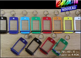 porte-clés couleur pour camping