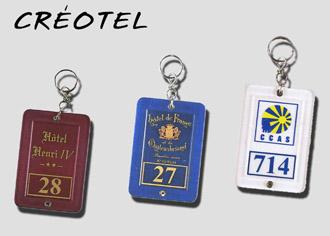 Porte-clés Créotel