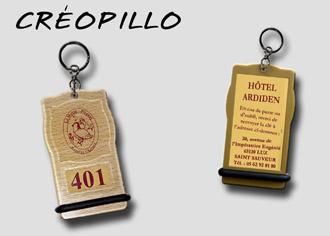 Porte-clés Créopillo