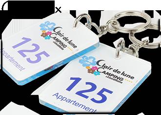 Porte-clés Créo-plex