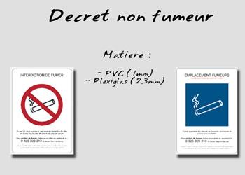Non fumeur decret