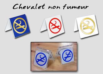 Chevalet non-fumeur