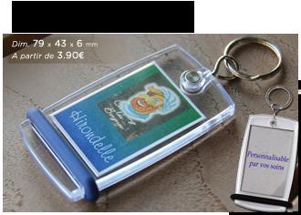 Porte-clés MiniCréoglass