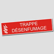 Plaque Trappe Desenfumage