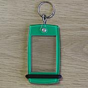 Porte-clés Mini Créoglass Color Vert X10
