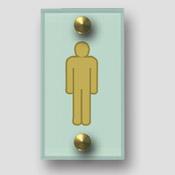 Signalétique Toilette homme