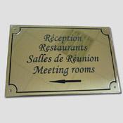 Plaque Directionnelle