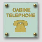 Signalétique téléphone