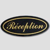Plaque Réception