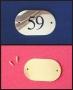 Numéro de porte laiton .cm