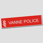 Signalétique Vanne Police