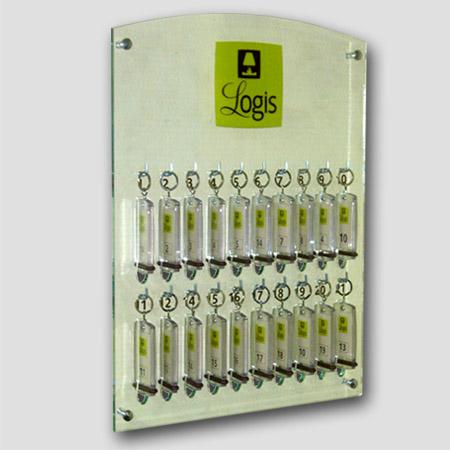 creobs signal tique porte cl et accessoires panneau cl s 20 cl s. Black Bedroom Furniture Sets. Home Design Ideas