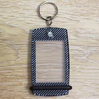 Porte-clés Mini Créoglass Texture Carbone X10
