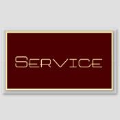 Plaque service bordeaux