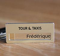 Badge pour taxi