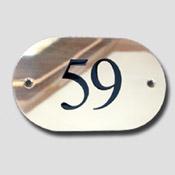 Numéro de porte laiton