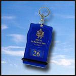 Porte clé créopillo bleu