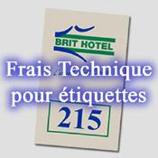 Frais Technique Etiquette Mini-Créoglass