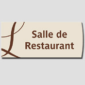 Signalétique Salle de Restaurant