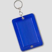 Porte clé - bleu à personnaliser