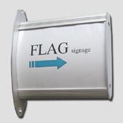 Signalétique Alu Sur Pignon 130x130
