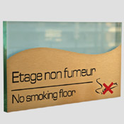 Plaque Etage non fumeur
