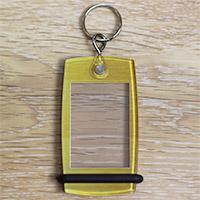 Porte-clés Mini Créoglass Texture Or Brossé X10
