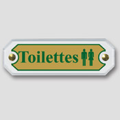 Signalétique Toilette