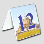 Numéro de table chelavet Mont Saint Michel