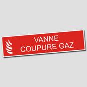 Panneau Vanne Coupure Gaz