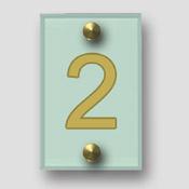 Signalétique numéro d'étage