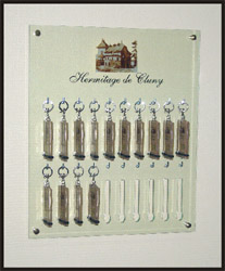 Tableau à clés pour hôtel