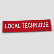 Signalétique Local Technique
