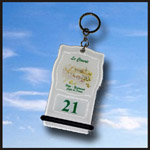 Porte clé créopillo blanc