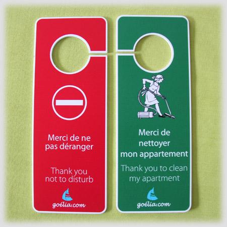 Bien-aimé CREOBS: signalétique, porte clé et accessoires - Pancarte Ne pas  BS19