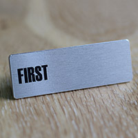 Badge personnalisé aimanté