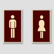 Toilettes homme ou femme