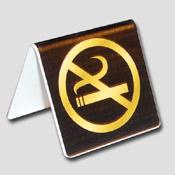 Lot de 10 chevalets non fumeur Noir