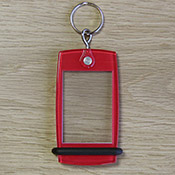 Porte-clés Mini Créoglass Color Rouge X10