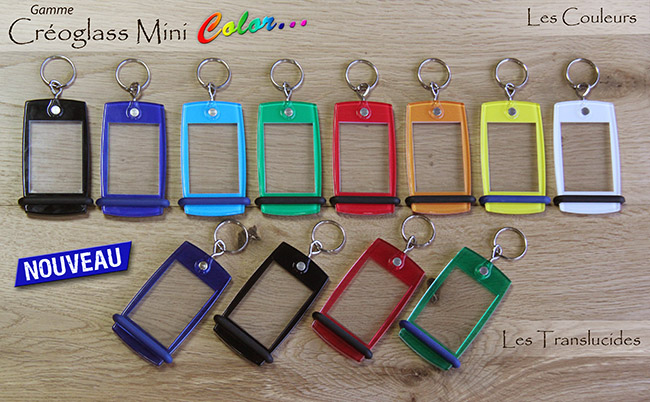 porte-clés camping créoglas mini color