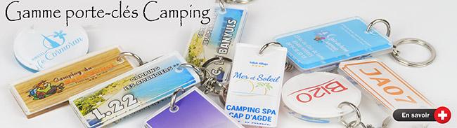 porte-clés pour camping